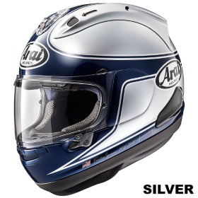 ARAI RX-7X SPENCER 40th シルバーの画像