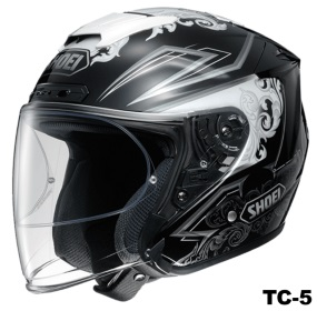 SHOEI J-FORCE 4 REFINADO TC-5の画像