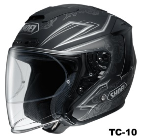 SHOEI J-FORCE 4 REFINADO TC-10の画像
