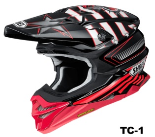 SHOEI VFX-WR GRANT3 TC-1の画像