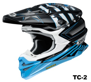 SHOEI VFX-WR GRANT3 TC-2の画像