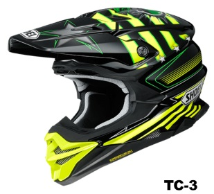 SHOEI VFX-WR GRANT3 TC-3の画像