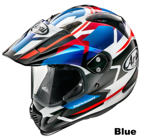 ARAI TOUR CROSS 3 DEPARTURE ブルーの画像