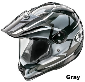 ARAI TOUR CROSS 3 DEPARTURE グレイの画像