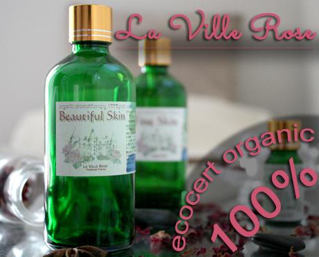 シルキースキン ボディオイル 100mL Silky Skin body oil サロン向け ラヴィルローズラベル画像