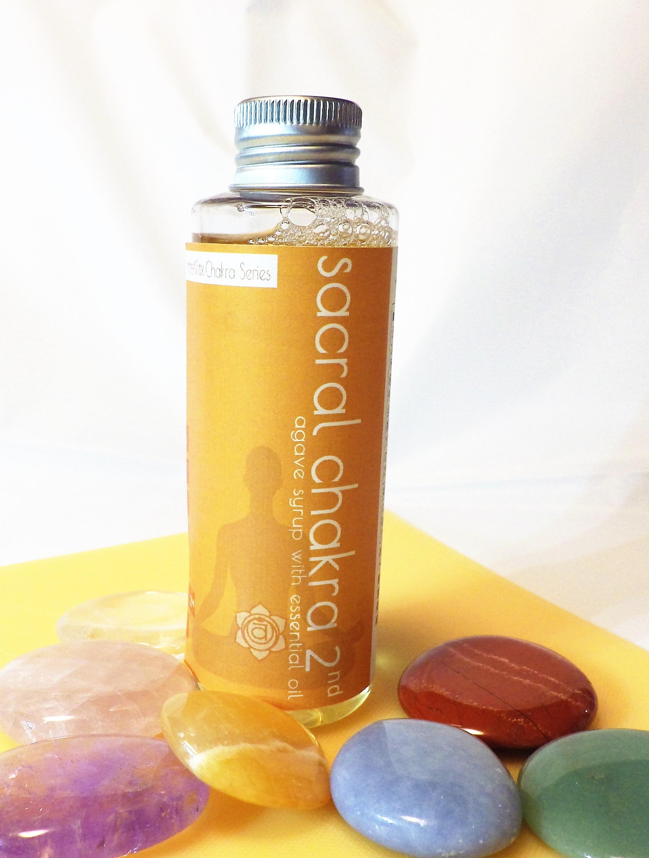 アロマアガベシロップ (精油入り)セイクラルチャクラ 2nd 150g Agave syrup with essential oil画像