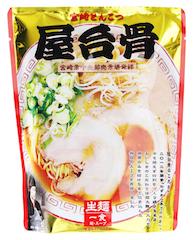屋台骨 宮崎豚骨ラーメン(生麺)1食入 スタンドパック(149g)の画像