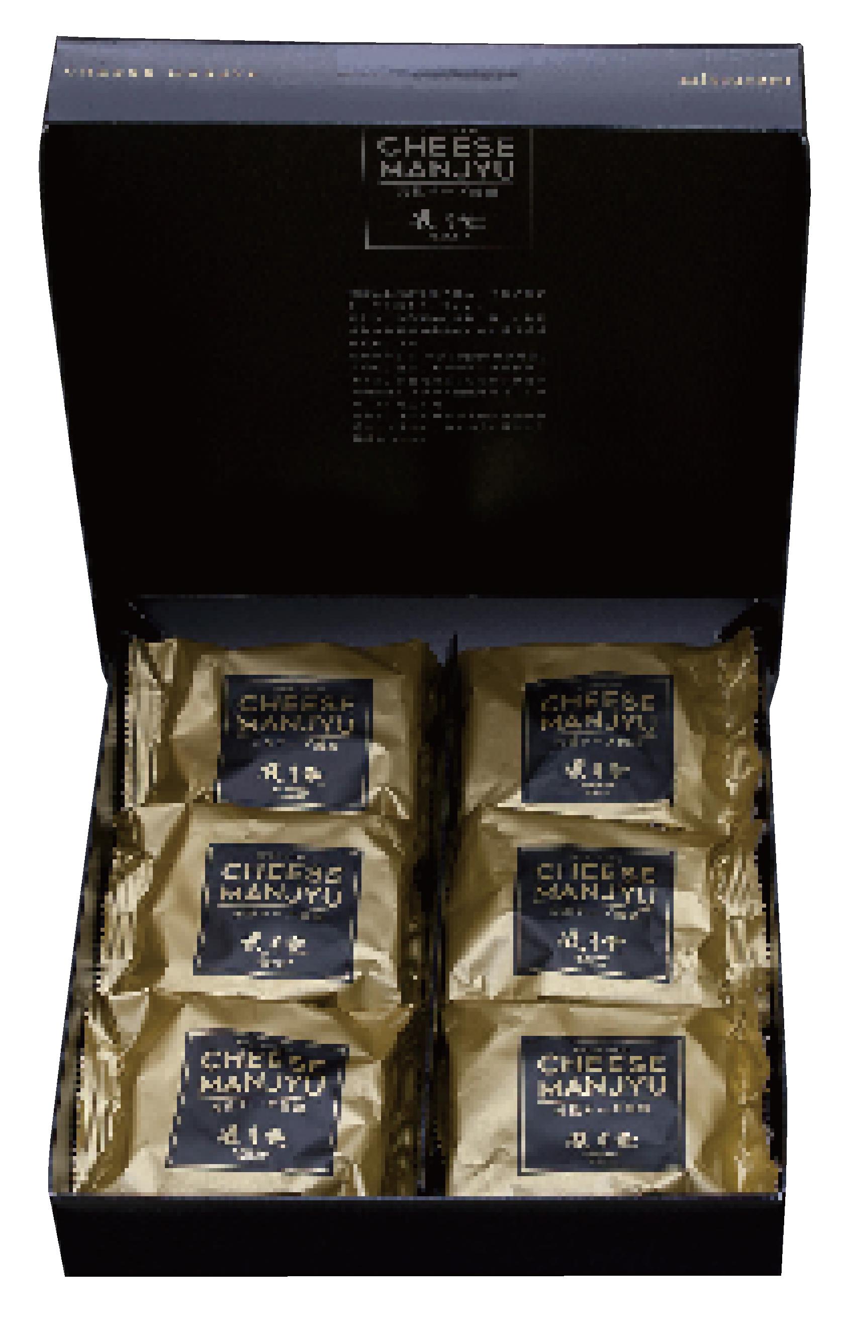 元祖チーズ饅頭 餡入り 6個入り画像