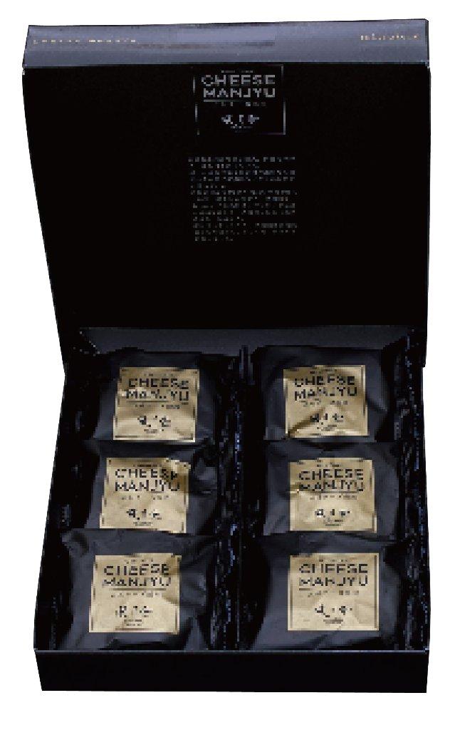 元祖チーズ饅頭 プレーン 6個入りの画像
