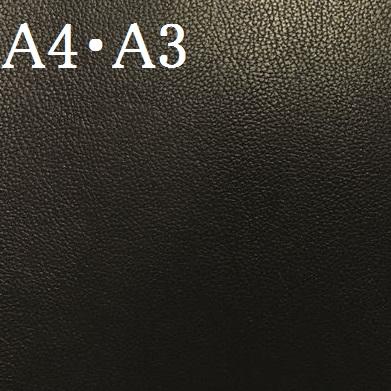 アウトレット カット革 アルコヴィンテージ・リンクル(ブラック)の画像