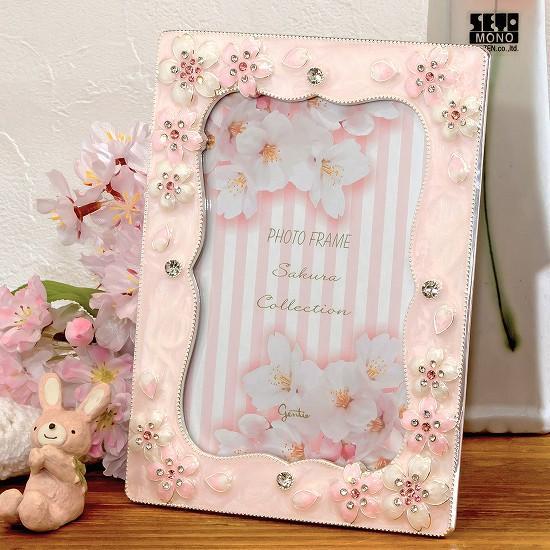 桜フレームの画像