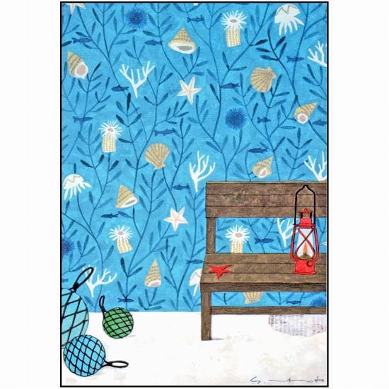 マツモトヨーコ ポストカード(貝がら)の画像
