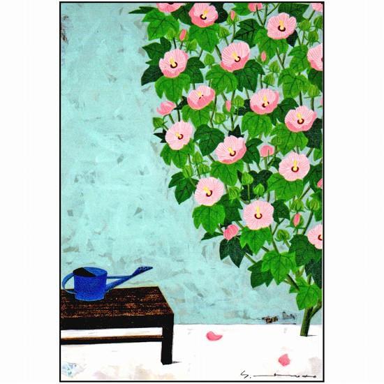 マツモトヨーコ ポストカード(芙蓉)の画像
