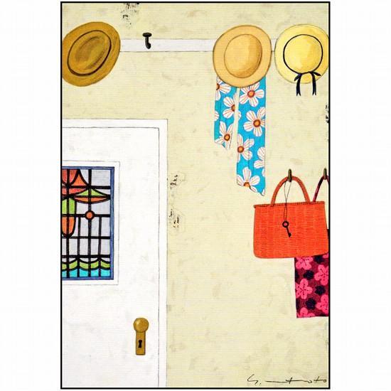 マツモトヨーコ ポストカード(夏のお出かけ)の画像