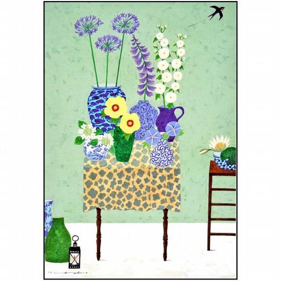 マツモトヨーコ ポストカード(夏の花々)の画像