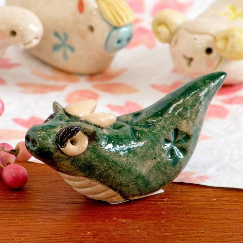 豆屋 箸置き(干支 たつ)の画像