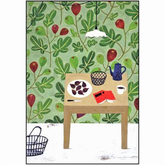 マツモトヨーコ ポストカード(ひと休み)の画像