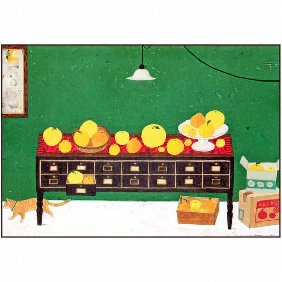 マツモトヨーコ ポストカード(オレンジ)の画像