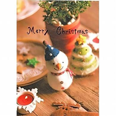 クリスマス ポストカード PX-3051の画像