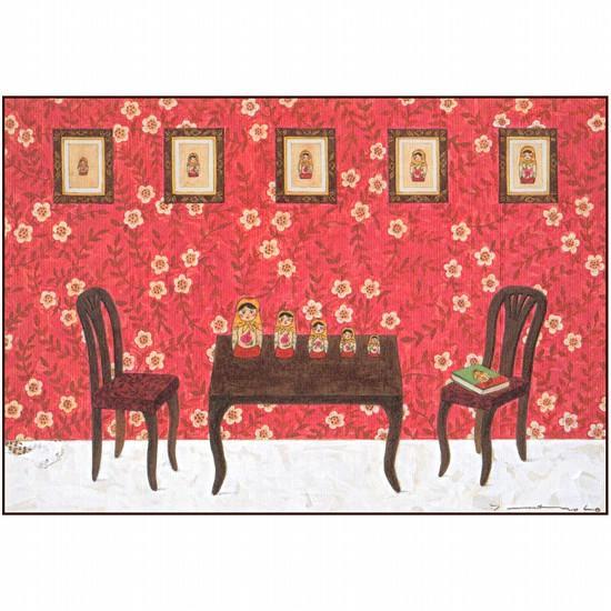 マツモトヨーコ ポストカード(マトリョーシカ)の画像