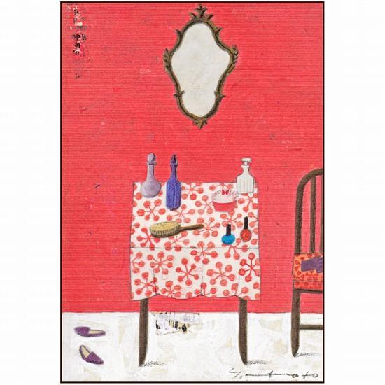マツモトヨーコ ポストカード(おめかし)の画像
