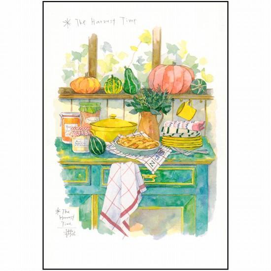 三好貴子 ポストカード(秋の収穫)の画像