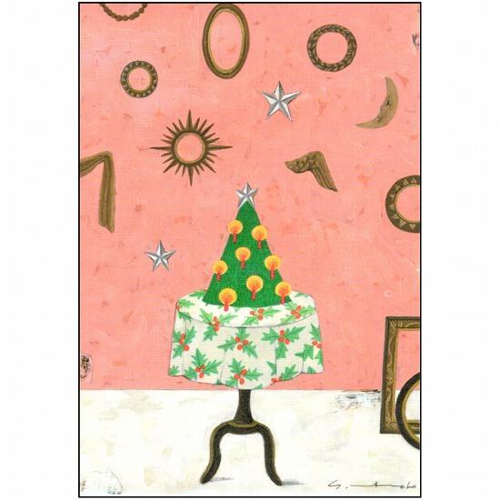 マツモトヨーコ クリスマスポストカード FD-7452画像