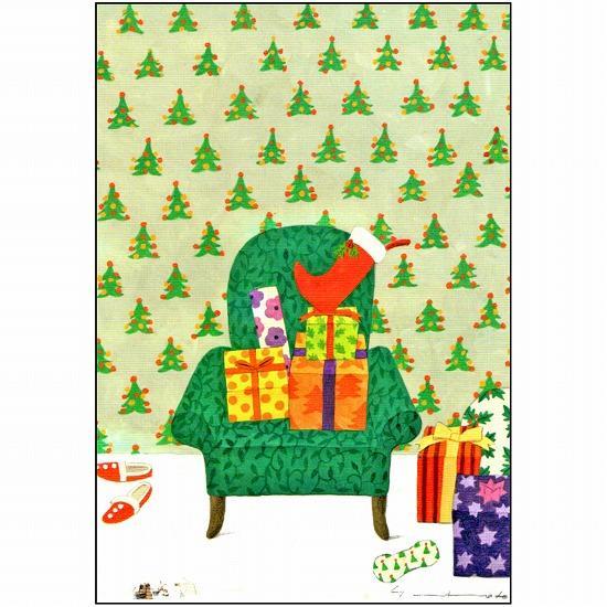 マツモトヨーコ クリスマスポストカード FD-7451画像