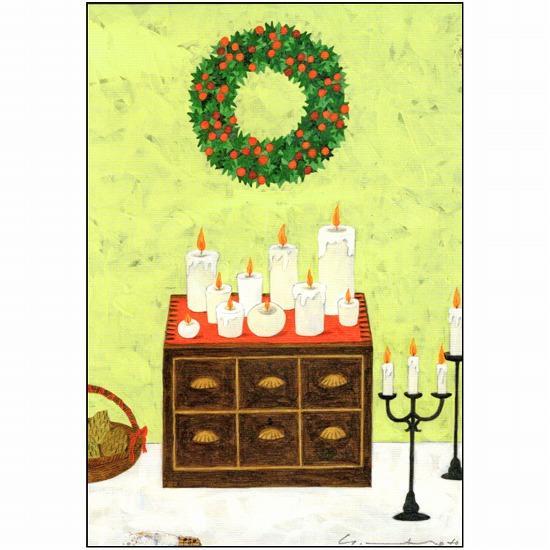 マツモトヨーコ クリスマスポストカード FD-7450画像