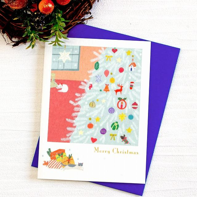 ひらいみも クリスマスカード(聖夜の灯)の画像