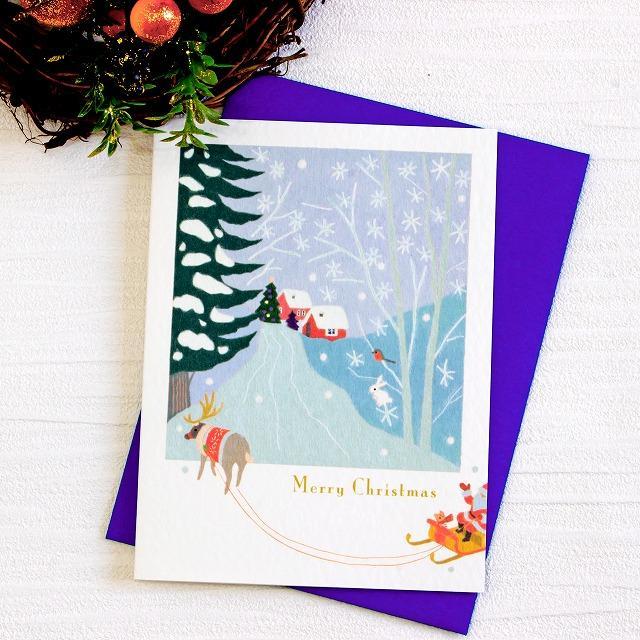 ひらいみも クリスマスカード(メリークリスマス)の画像