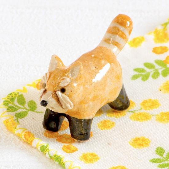 豆屋 箸置き(レッサーパンダ)の画像