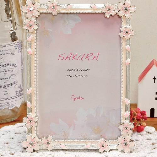 桜メタルフレームの画像