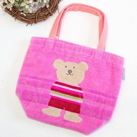 レインボーベア 保冷バッグ(スタイル3)ピンクの画像