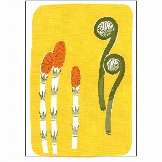北原明日香 ポストカード(つくし)の画像