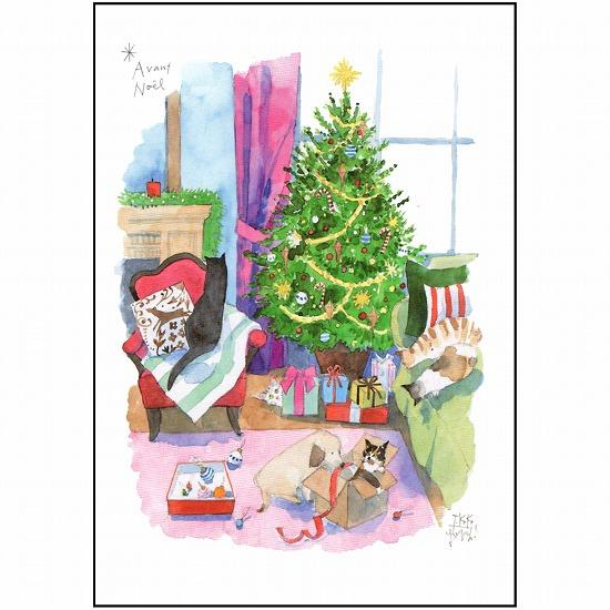 三好貴子 ポストカード(クリスマスの前に)画像