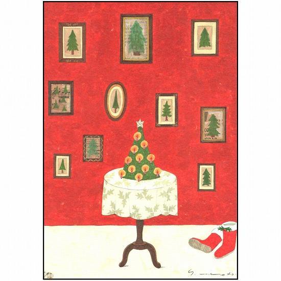 マツモトヨーコ クリスマスポストカード FD-7640画像