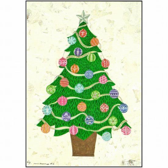 マツモトヨーコ クリスマスポストカード FD-7639画像