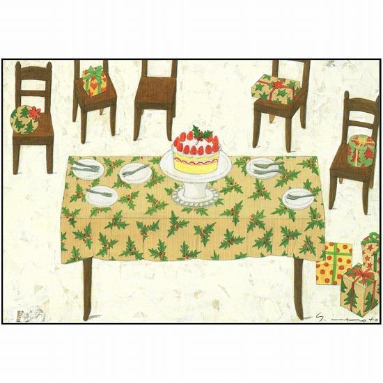 マツモトヨーコ クリスマスポストカード FD-7638画像