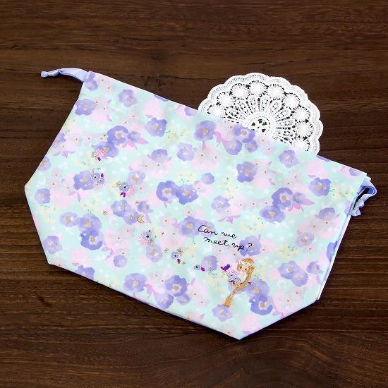 花フェアリーテイル ランチ巾着(ラプンツェル)画像