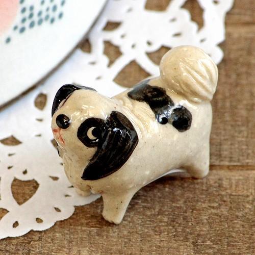 豆屋 箸置き(日本の犬 狆)の画像