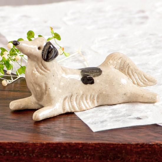 豆屋 箸置き(ボルゾイ)の画像
