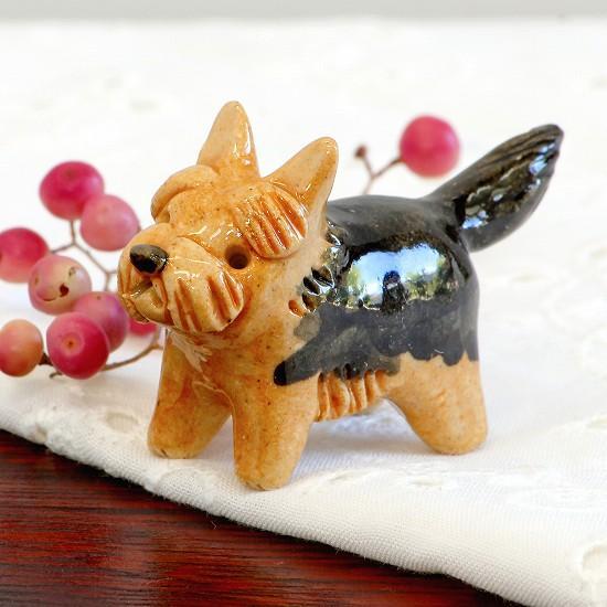 豆屋 箸置き(ヨークシャテリア カット)の画像