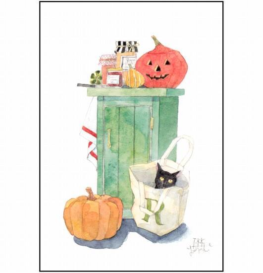 三好貴子 ポストカード(ハロウィン)の画像