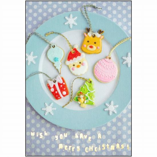 MASUKO クリスマス ポストカード(オーナメント)の画像