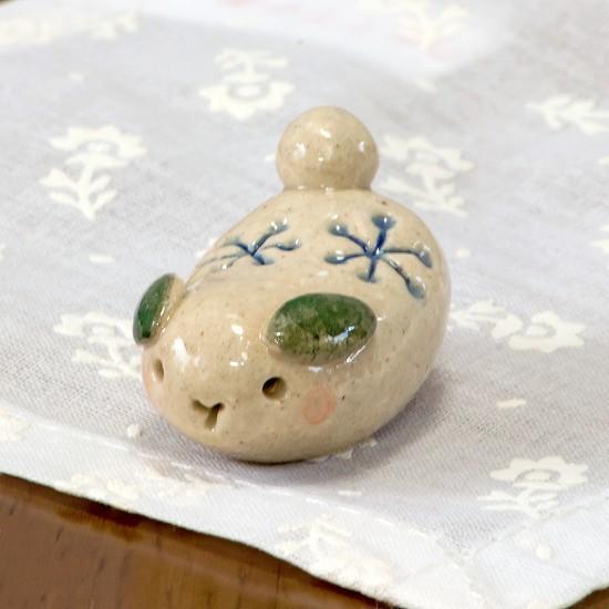 豆屋 箸置き(おもちゃ ゆきうさぎ)の画像