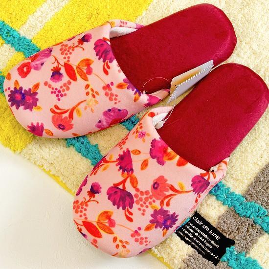 シビラ ソフトスリッパ(カンバラチェ)ピンクの画像