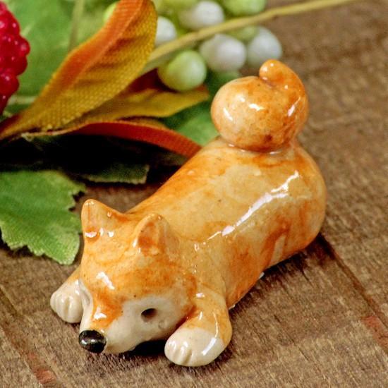豆屋 箸置き(柴犬 ふせ)の画像