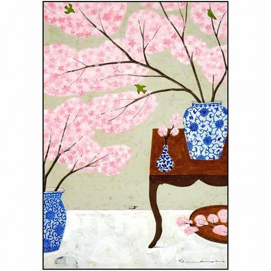 マツモトヨーコ ポストカード(桜)の画像