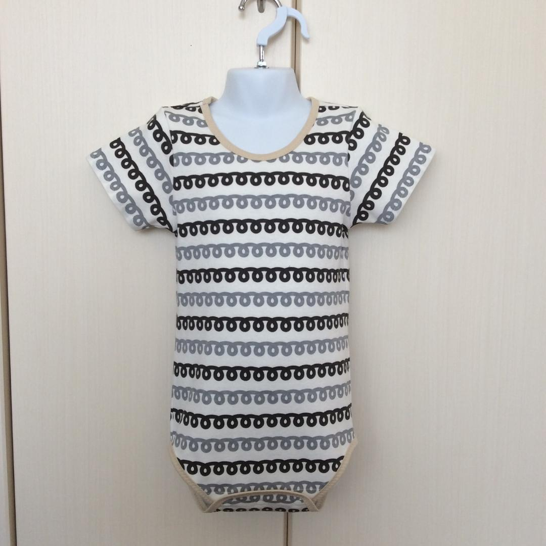 Romper - Curly Rope Pattern - Open Front Type画像